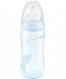 Biberon NUK First Choice Plus Baby Rose & Blue 300ml con Temperature Control