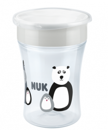 NUK Monochrome Animals Magic Cup 230ml
