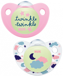 NUK Night & Day Trendline Succhietto in Silicone