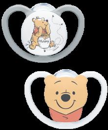 NUK Disney Winnie the Pooh Succhietto Space Silicone