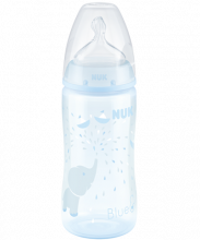 Biberon NUK First Choice Plus Baby Rose & Blue 300ml con Temperature Control