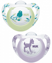 NUK Genius Color Succhietto in Silicone