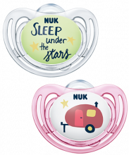 NUK Hello Adventure Freestyle Succhietto in Silicone