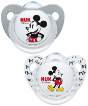 Succhietto Trendline in silicone NUK Disney Mickey Mouse