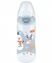 NUK Snow Biberon First Choice Plus 300ml con tetarella