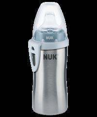 Active Cup NUK Inox 215ml con Beccuccio in Silicone