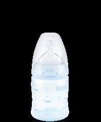 Biberon NUK First Choice Plus Baby Rose & Blue con Tettarella in Silicone