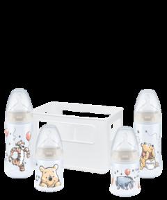 NUK Disney Winnie the Pooh First Choice Plus Starter Set con Temperature Control