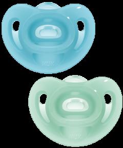 NUK Succhietto Sensitive Silicone